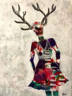 Hiding Hands, Antlers Never by Clarisse Pastor-Medina
