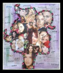 Eman Desouky Allam Dimensions: 50x50 cm Material:Collage