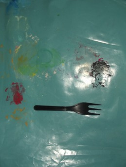 By Jacklyn Janeksela I have used this fork so i will eat less. i have used this fork so i look more feminine and dainty. i have used this fork to punish myself. eating is not bad, calories are not bad, sugar is not bad. bad is what i do with these concepts in my mind. bad is how i allow them to transform my body. i deserve to eat. i deserve calories and sugar. i deserve a bigger for