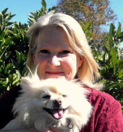 LAURA GRACE WELDON and her dog Winston