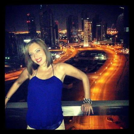 Dancer Ruby Al-Faqir,28 , Dubai, UAE.