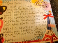 Fan mail from Maria Doherty aged 10 re 'The Wishing Machine'