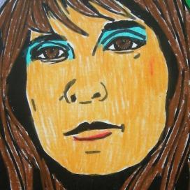 ARTIST Ildiko Nova - SELF PORTRAIT