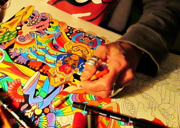 Artist Sandra Mendelsohn
