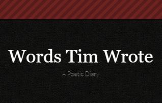 Poet Tim Evans