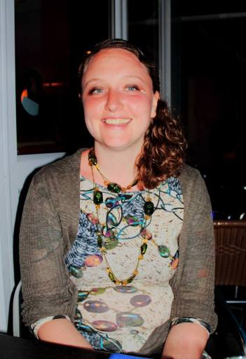 Writer and Poet Becky Saunders
