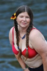 """Maryjayne Stone braved to do this a second time, in her determination to make peace with the humanness of her body. """"I feel like I have a better handle than I ever have."""" She is beautiful, we all agree."""
