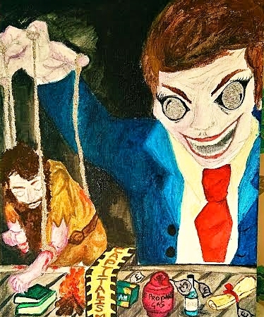 The Puppeteer - By Jade Bryant