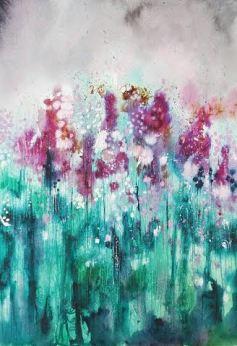 Purple Blush by Kate Woodley-Smith